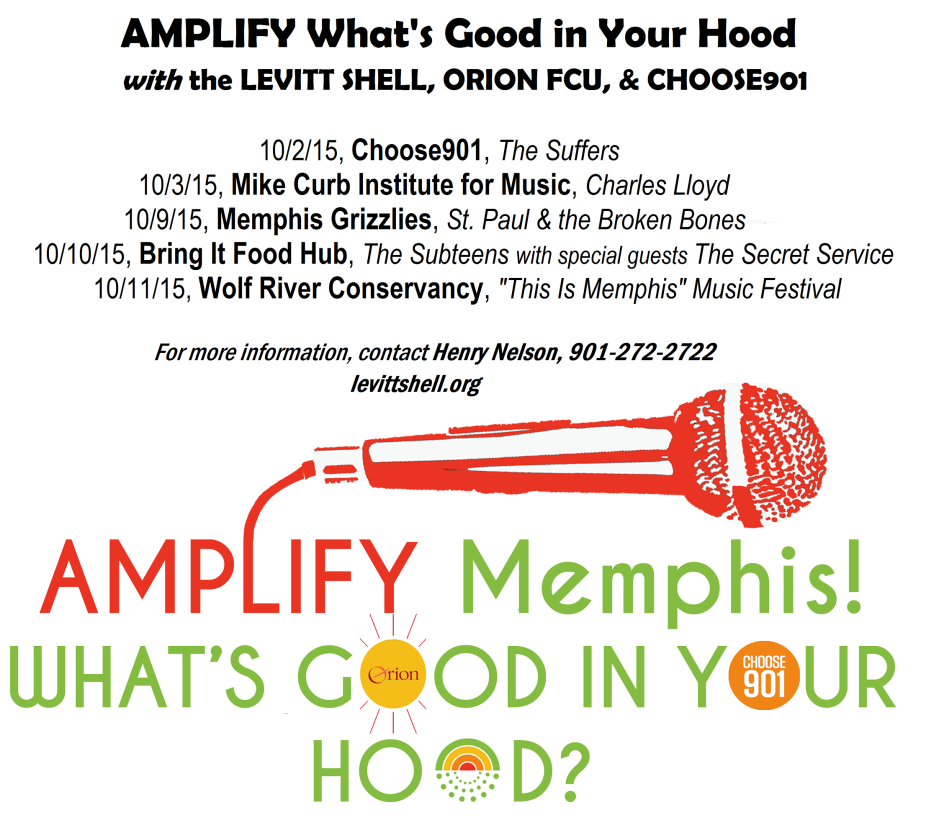 AMPLIFY MEMPHIS for oct