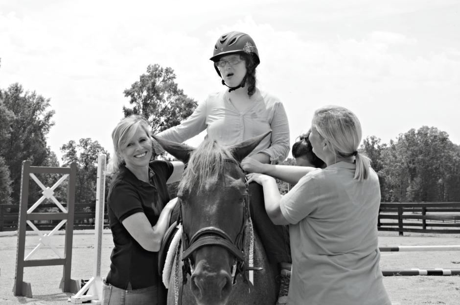 southern reins - Jill and Annie2