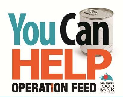 Operation Feed 2016 Mid South Food Bank