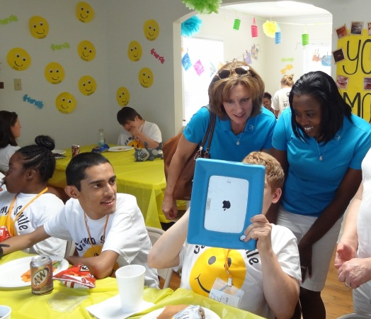 Camp Smile, Orion Gives Back, Trevia Chatman, Tara Smith